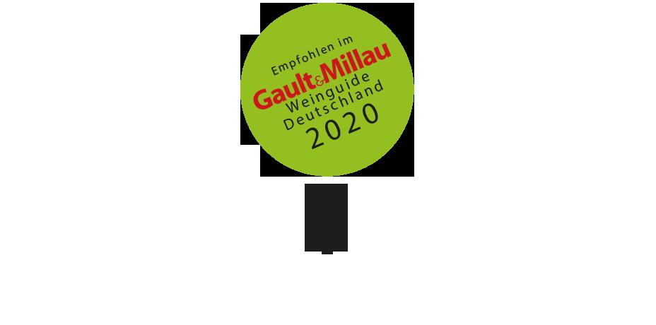 Auszeichnung Gault Millau schwarze Traube 2020