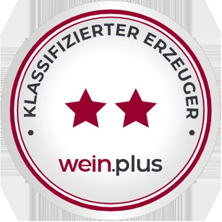 Wein-Plus 2 Sterne Auszeichnung